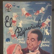 Cine: EL PEQUEÑUELO - NOVELA SEMANAL CINEMATOGRAFICA. EDICIONES BISTAGNE.. Lote 143041918