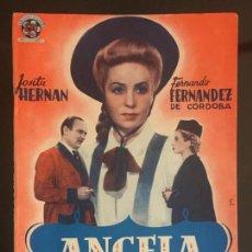 Cine: ANGELA ES ASÍ - NOVELA SEMANAL CINEMATOGRAFICA. EDICIONES BISTAGNE.. Lote 143042946