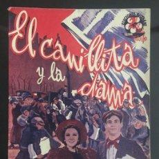 Cine: EL CANILLITA Y LA DAMA - NOVELA SEMANAL CINEMATOGRAFICA. EDICIONES BISTAGNE. . Lote 143048222