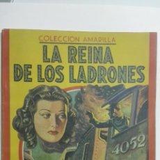 Cine: LA REINA DE LOS LADRONES, EDGAR WALLACE, COLECCION AMARILLA, EDITORIAL MAUCCI. Lote 144068366
