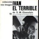 Cine: EISENSTEIN : IVAN EL TERRIBLE (VOZ IMAGEN, 1967) . Lote 145368298