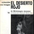 Cine: ANTONIONI : EL DESIERTO ROJO (VOZ IMAGEN, 1965) . Lote 145368858