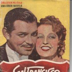 Cine: CLARK GABLE - JEANETTE MACDONALD - SPENCER TRACY : SAN FRANCISCO. Lote 145369238