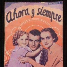 Cine: AHORA Y SIEMPRE, EDICIONES BISTAGNE.. Lote 146455758