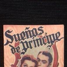 Cine: SUEÑOS DE PRINCIPE. CHARLES BOYER. EDICIONES BISTAGNE. Lote 146453238