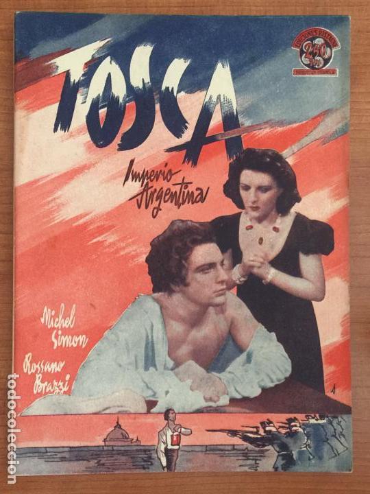 TOSCA. EDICIONES BISTAGNE. (Cine - Foto-Films y Cine-Novelas)