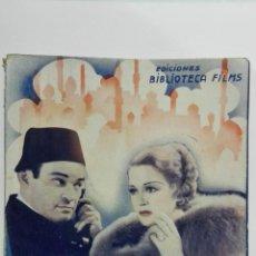 Cine: EL SOBRE LACRADO, BIBLIOTECA FILMS NACIONAL, Nº 234, EDITORIAL ALAS. Lote 147034014