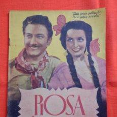 Cine: ROSA DE SANGRE, NOVELA, VIVANE ROMANCE, 31 PÁG. . Lote 147056966