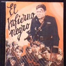 Cine: EL INFIERNO NEGRO. EDICIONES BISTAGNE.. Lote 147248970