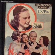 Cine: TRES DIABLILLOS. PUBLICACIONES CINEMA.. Lote 147250822
