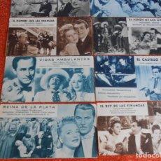 Cine: PROSPECTOS ANTIGUOS DE CINE DE 1939 A 1955. Lote 147369762