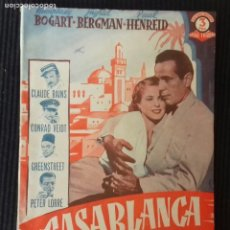 Cine: CASABLANCA. EDICION BISTAGNE SERIE TRIUNFO.. Lote 147437554