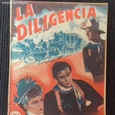 Cine: LA DILIGENCIA. COLECCION RIALTO.. Lote 147440046
