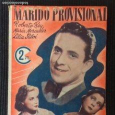 Cine: MARIDO PROVISIONAL.EDICIONES MARISAL,. Lote 147440734
