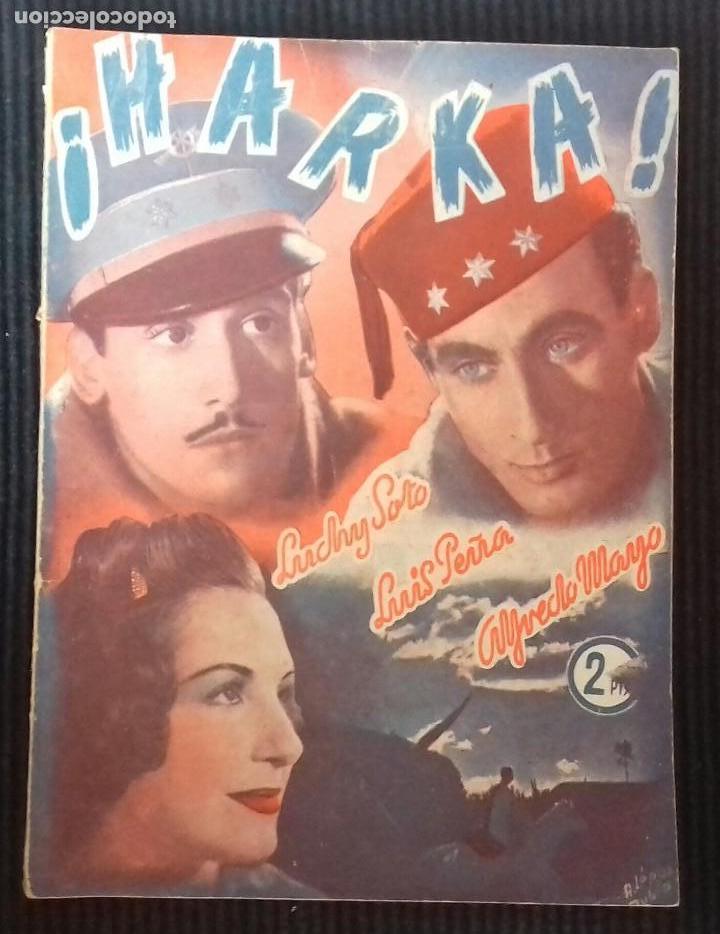 HARKA. COLECCION CINEMA. (Cine - Foto-Films y Cine-Novelas)