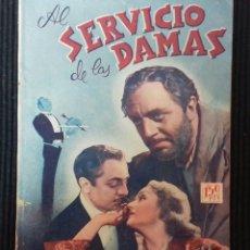 Cine: AL SERVICIO DE LAS DAMAS. PUBLICACIONES CINEMA.. Lote 147473838