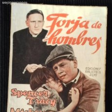 Cine: FORJA DE HOMBRES. EDICIONES BIBLIOTECA FILMS.. Lote 147927862