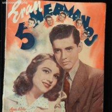 Cine: ERAN 5 HERMANOS. EDICIONES BISTAGNE.. Lote 147934474