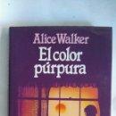 Cine: EL COLOR PÚRPURA LIBRO. Lote 148013016