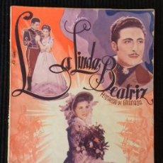 Cine: LA LINDA BEATRIZ. EDICIONES BISTAGNE.. Lote 148703054