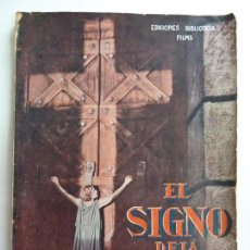 Cinema: BIBLIOTECA FILMS. EL SIGNO DE LA CRUZ.. Lote 149086478