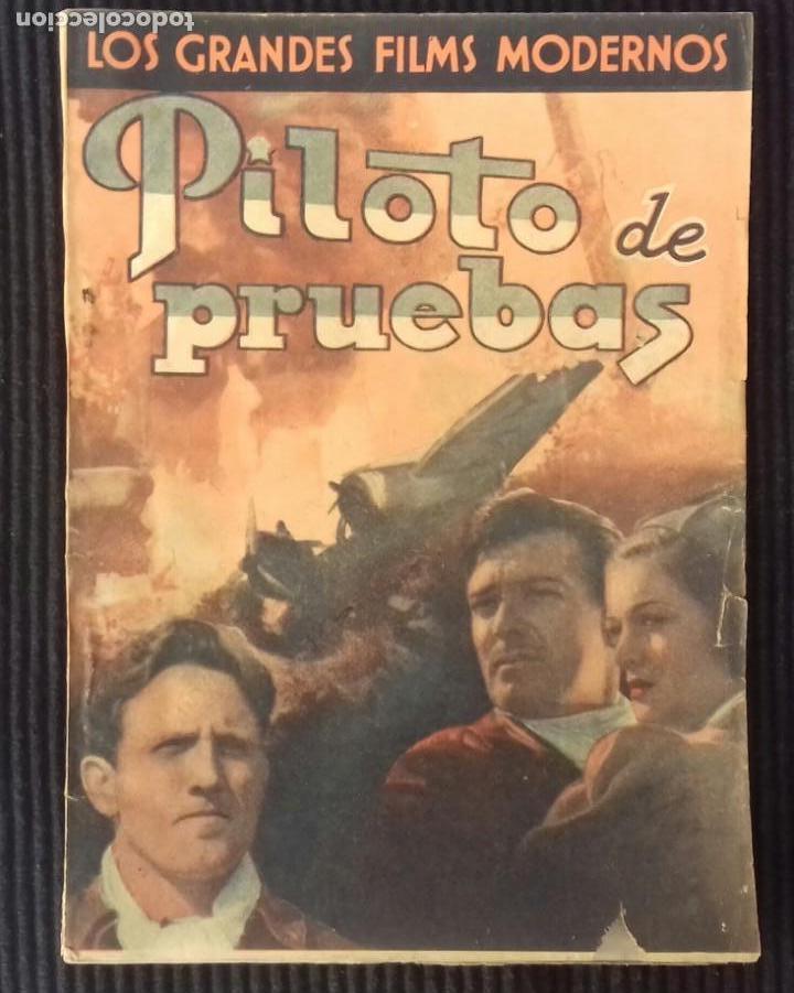 PILOTO DE PRUEBAS. EDICIONES CINEMATOGRAFICAS. (Cine - Foto-Films y Cine-Novelas)