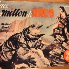 Cine: NOVELA PELÍCULA HACE UN MILLÓN DE AÑOS.VICTOR MATURE EDICIONES BISTAGNE. Lote 151173006