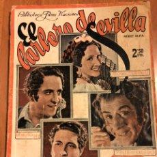 Cine: NOVELA PELÍCULA EL BARBERO DE SEVILLA RAQUEL RODRIGO ESTRELLITA CASTRO.BIBLIOTECA FILMS NACIONAL. Lote 151174040