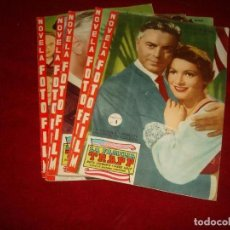 Cine: NOVELA FOTO FILM LA FAMILIA TRAPP COMPLETA EN 5 FASCICULOS FHER 1958. Lote 151311382