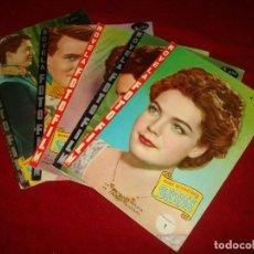 Cine: NOVELA FOTO FILM ROMY SCHNEIDER SISSI COMPLETA EN 5 FASCICULOS EDITORIAL FHER 1958. Lote 151317766