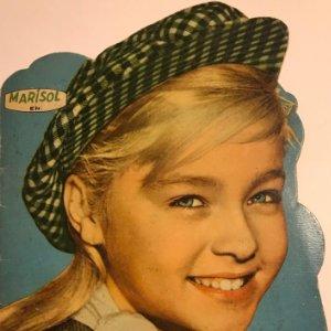 1961 Cuento troquelado Marisol. Ha llegado un angel. Editorial Fher 16,3x23,8 cm