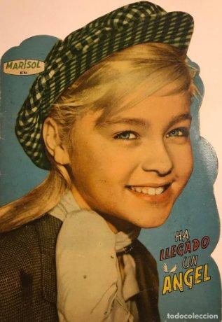 1961 Cuento troquelado Marisol. Ha llegado un angel. Editorial Fher 16,3×23,8 cm