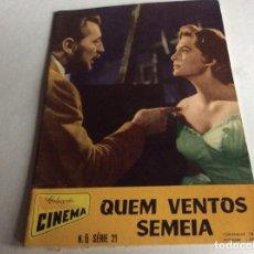 Cine: REVISTA COLECCIÓN DE CINEMA. AÑOS 50. ILUSTRADA. ÚLTIMO PRECIO. LOTE 2. Lote 151639522