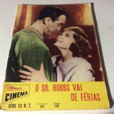 Cine: REVISTA COLECCIÓN DE CINEMA. AÑOS 50. ILUSTRADA. ÚLTIMO PRECIO. LOTE 4. Lote 151640902