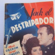 Cine: JACK EL DESTRIPADOR ,EDICIONES ESPECIALES CINEMATOGRAFICAS , BISTAGNE. Lote 151663954