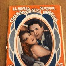 Cine: LA NOVELA SEMANAL CINEMATOGRÁFICA MODERNA LOS FANTASMAS DEL CASTILLO PAULINA STARKE WILLIAM COLLIER. Lote 151990096