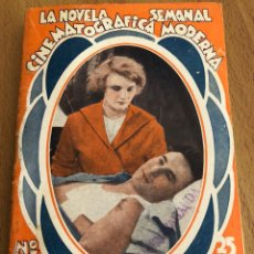 Cine: LA NOVELA SEMANAL CINEMATOGRÁFICA MODERNA ROMANCE AGRESTE GEORGE O,BRIEN.EDICIONES BISTAGNE. Lote 151990268
