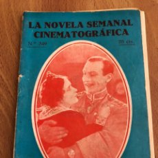 Cine: LA NOVELA SEMANAL CINEMATOGRÁFICA 349.RENDICION.MARY PHILBIN. Lote 151992328