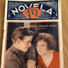 Cine: NOVELA FOX MAMA DÉJAME AMAR.MADGE BELLAMY. Lote 151994397