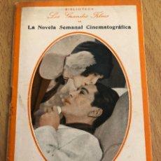Cine: BIBLIOTECA LOS GRANDES FILMS.LA NOVELA SEMANAL CINEMATOGRÁFICA.ESTUDIANTE.MARY BRIAN JACK PICKFORD. Lote 151997593