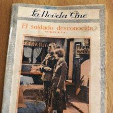 Cine: LA NOVELA CINE EL SOLDADO DESCONOCIDO.MARGARITA DE LA MOTE. Lote 152001842
