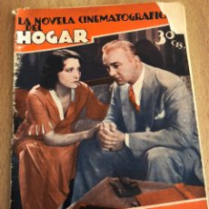 Cine: LA NOVELA CINEMATOGRÁFICA DEL HOGAR JUGÁNDOSE LA VIDA.BILL BOYD DOROTHY SEBASTIÁN WARNER OLAND.. Lote 152002434