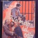 Cine: PRISIONERO DEL ODIO. EDICIONES BISTAGNE.. Lote 152363042