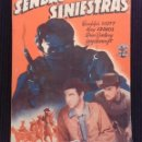 Cine: SENDAS SINIESTRAS. EDICIONES BISTAGNE.. Lote 152363898