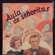 Cine: AULA DE SEÑORITAS. EDICIONES BISTAGNE.. Lote 152364482