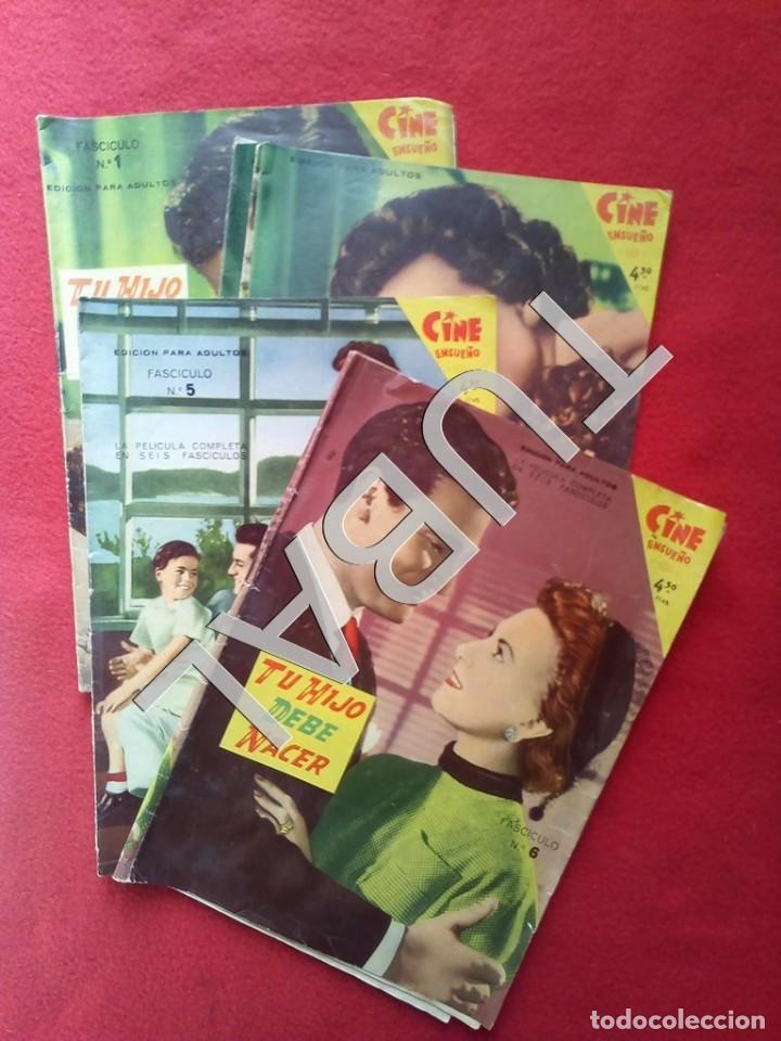 TUBAL COMPLETO TU HIJO DEBE NACER 1959 SERIE CINE DE ENSUEÑO LOS 6 FASCICULOS (Cine - Foto-Films y Cine-Novelas)