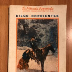 Cine: LA PELÍCULA ESPAÑOLA.DIEGO CORRIENTES. Lote 153397145