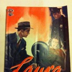 Cine: LAURA- MUY BIEN CONSERVADO. Lote 153811522
