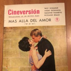 Cine: CINEVERSION MÁS ALLÁ DEL AMOR.TROY DONAHUE ANGIE DICKINSON. Lote 154568478