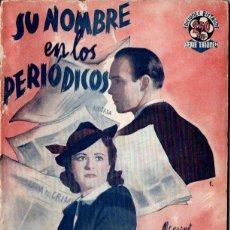 Cine: SU NOMBRE EN LOS PERIÓDICOS (BISTAGNE, S.F.). Lote 155743110